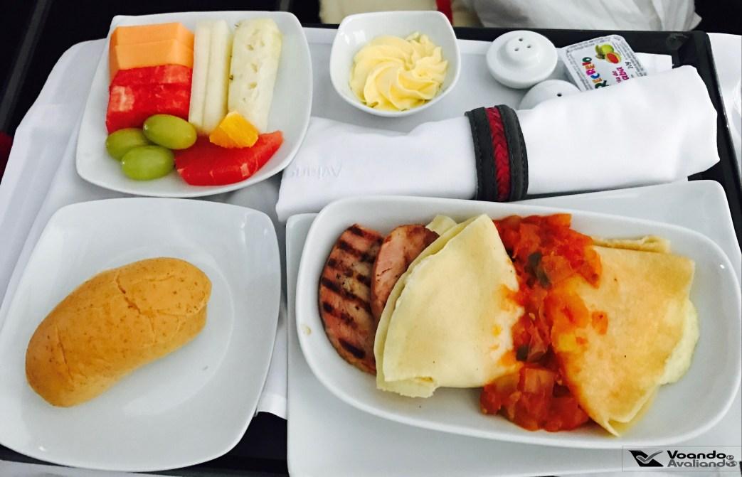 Café da Manhã - Avianca - GRU/JFK