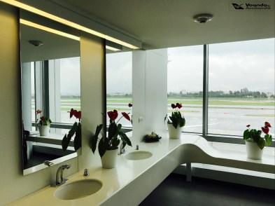 Hall Banheiros - Sala VIP - Avianca