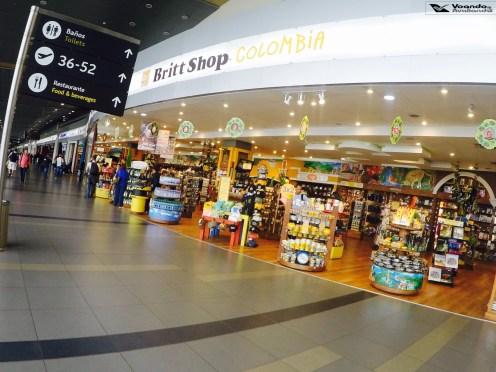 Loja Souvenirs - Aeroporto Bogotá