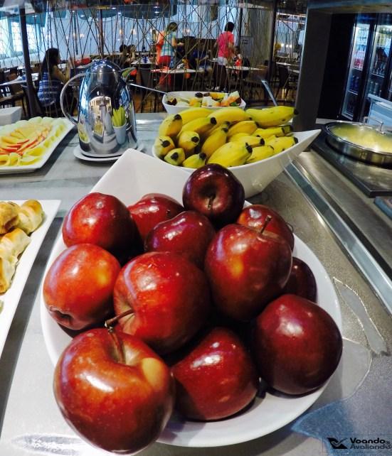 Sala VIP - Star Alliance - GRU - Frutas