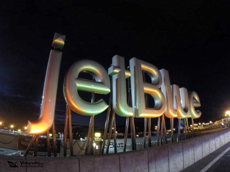 Logo Jet Blue - T5 JFK
