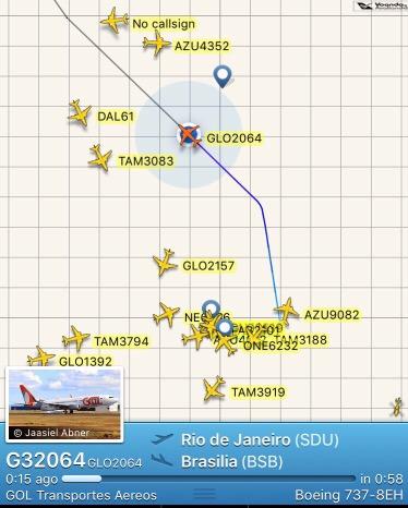 Registro - FlightRadar - Wifi GOL