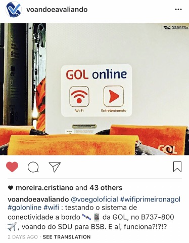 Registro - Instagram - Wifi GOL1