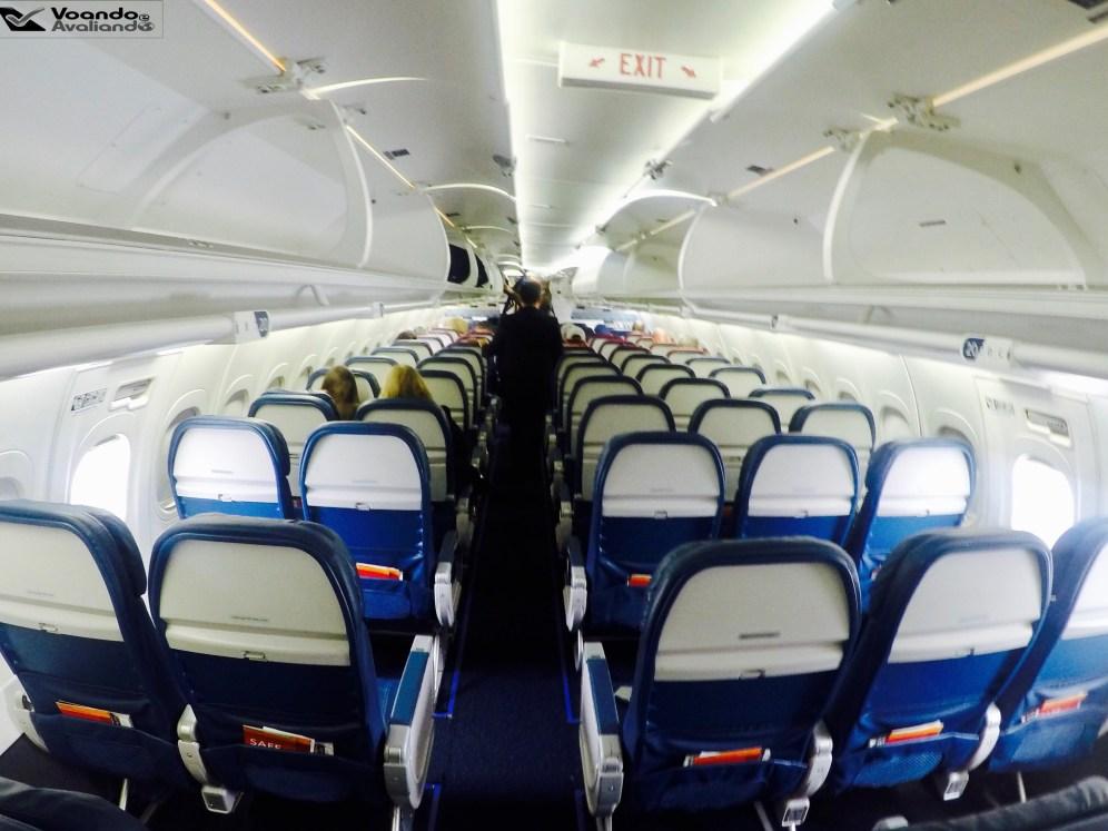 Inside B717 - Delta