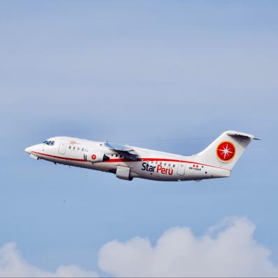 BAe 146 Avro - Star Peru Decolando