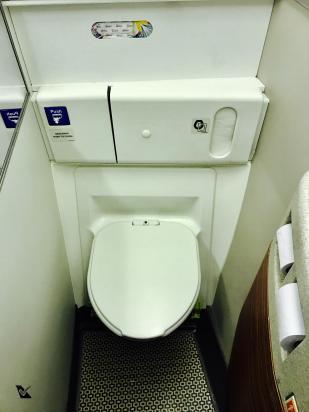 Banheiro Traseiro - B777 LATAM 2