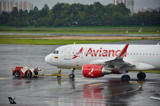 Bogotá - Avianca - Airbus A319 (4)