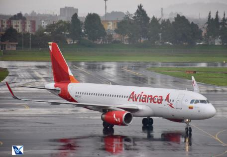 Bogotá - Avianca - Airbus A320 (2)