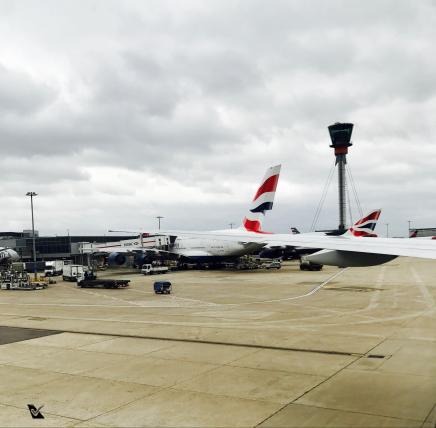 LHR - A380 + Torre de Controle