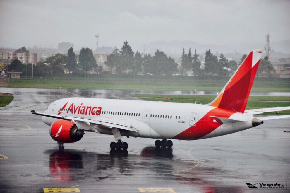 Bogotá - Avianca - Boeing B787 (1)