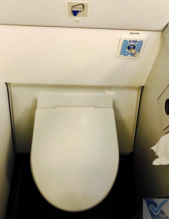 A319 Avianca - Banheiro Vaso