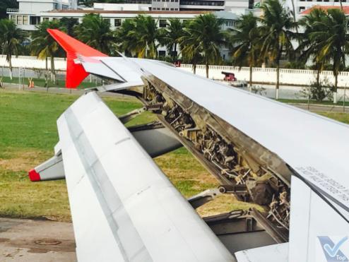 Avianca - A319 - Pouso SDU 3