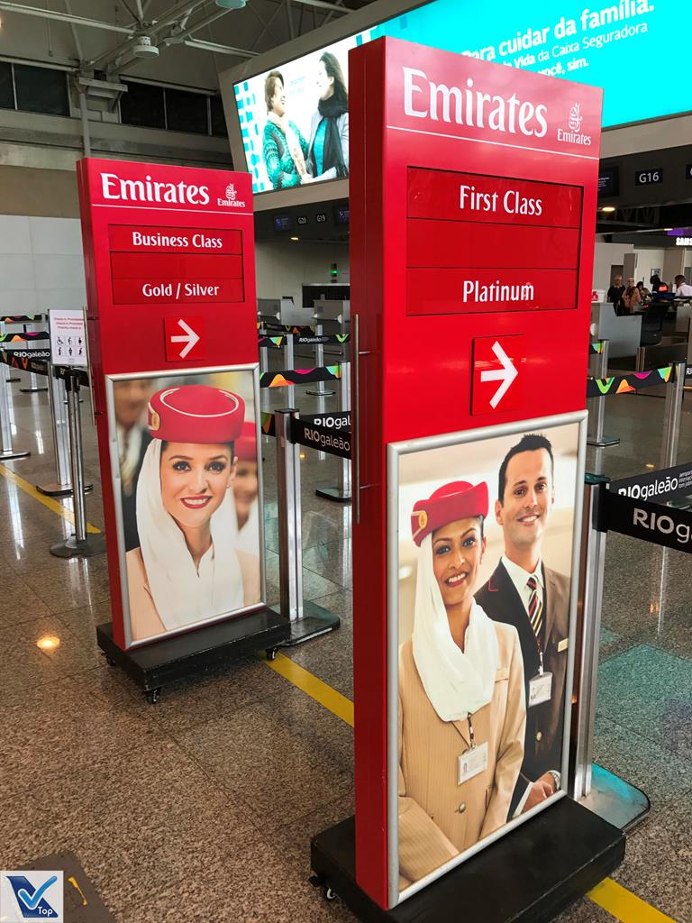 Check-in Emirates GIG 1
