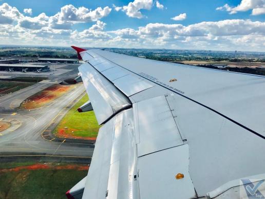 Decolagem - A319 - Avianca