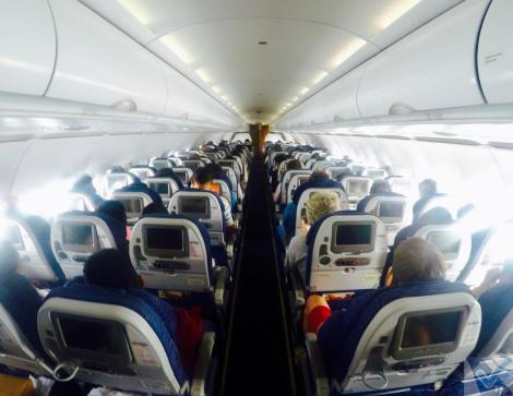 Inside - A319 - Avianca 2