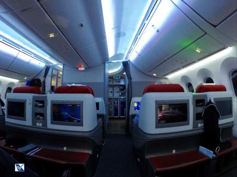Inside - B787 - Business - LATAM - SCL AKL 5