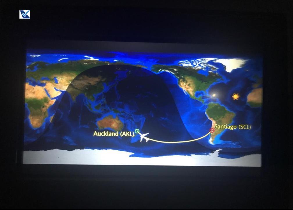 Mapa de Voo - LATAM - SCL AKL