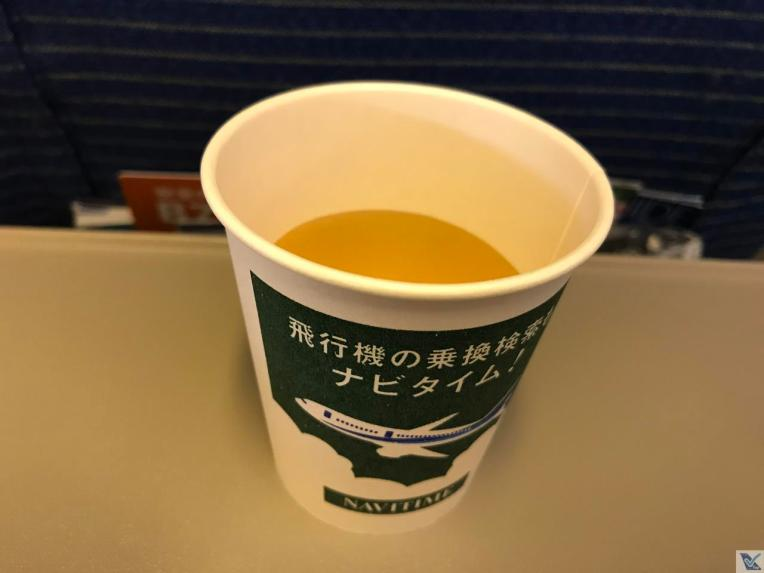 Café a bordo - B777 - ANA 2