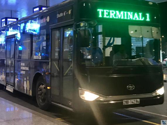 Hanoi - ônibus para Termina 1 (2)