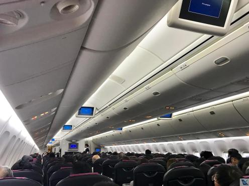 Inside - Cabine Econômica - B767 JAL 4