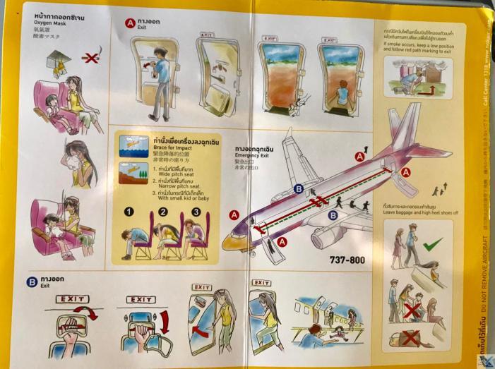 Instruções Segurança - B737 - Nok Air 2