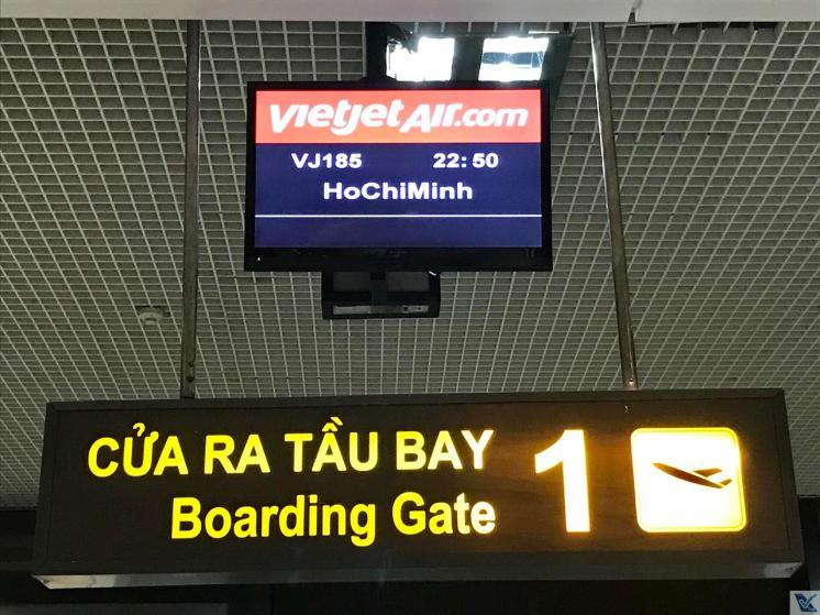 Portão 1 - Hanoi - Vietjet Air 5