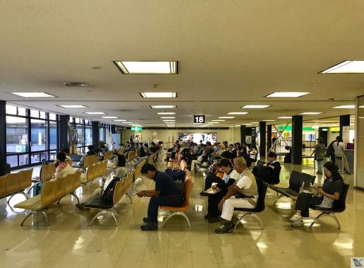 Portão 18 - Osaka - Embarque JAL 4