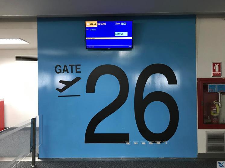 Portão 26 - Nok Air - DMK 2