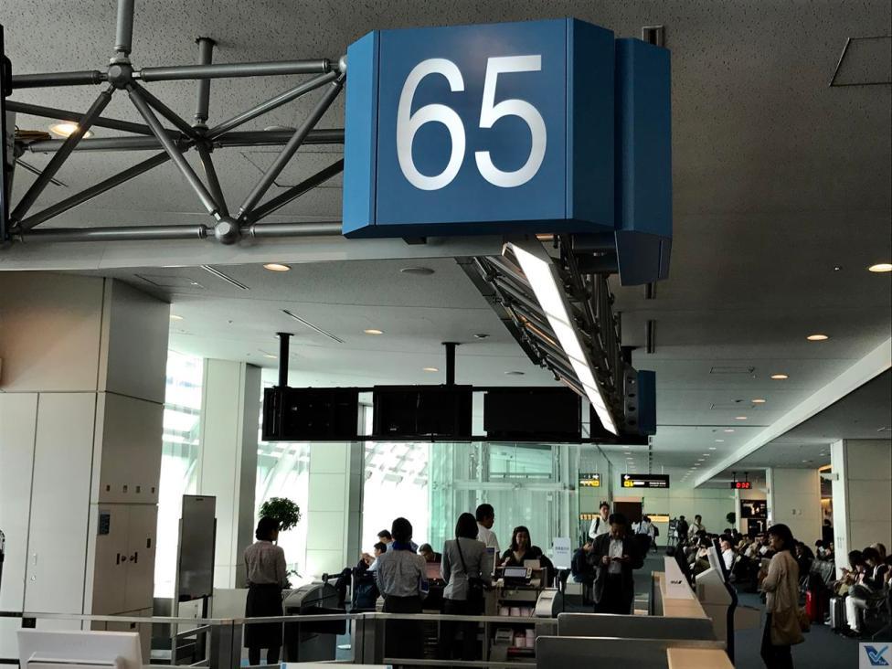 Portão 65 - Embarque ANA - Haneda 2