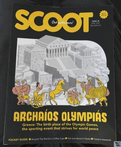 Revista de Bordo - Scoot - B787