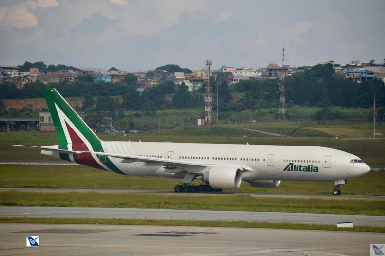 Alitalia - B777 - Foto