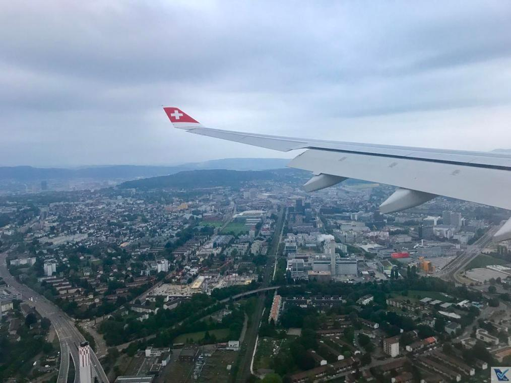 Aproximação ZRH - A330 Swiss 2