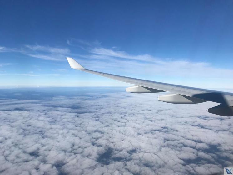 Janela - A330 - Qantas SYD - MEL (2)