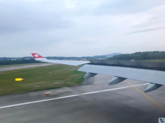 Pouso - A330 - Swiss (3)