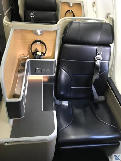 Qantas - A330 - Business (2)