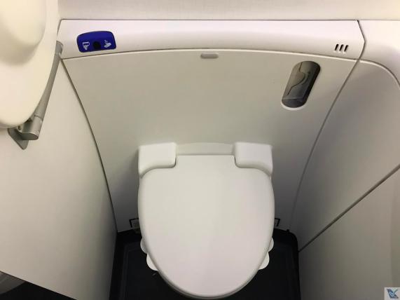 Banheiro - B787 - Air France - Vaso