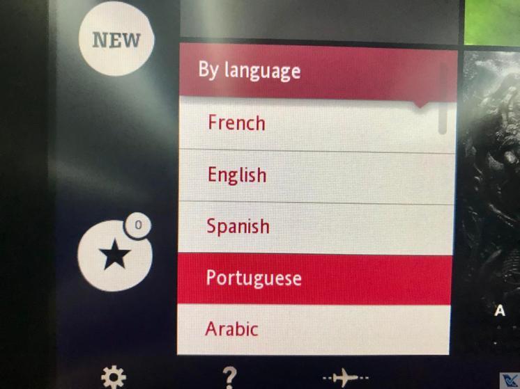 IFE - B787 - Air France - Línguas 2
