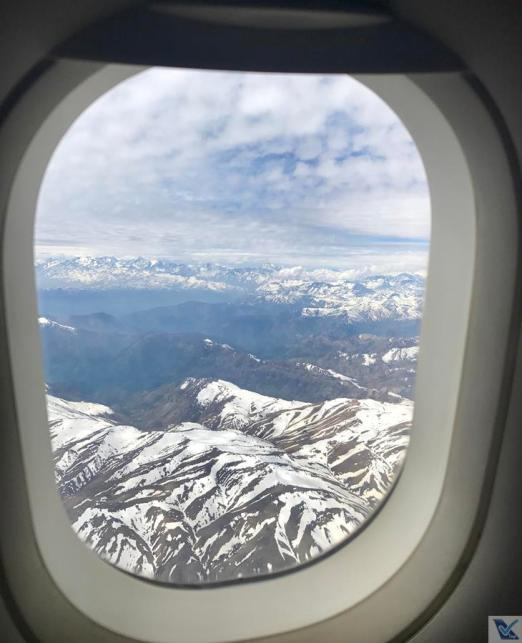 Janela A320 - LATAM - Andes (2)