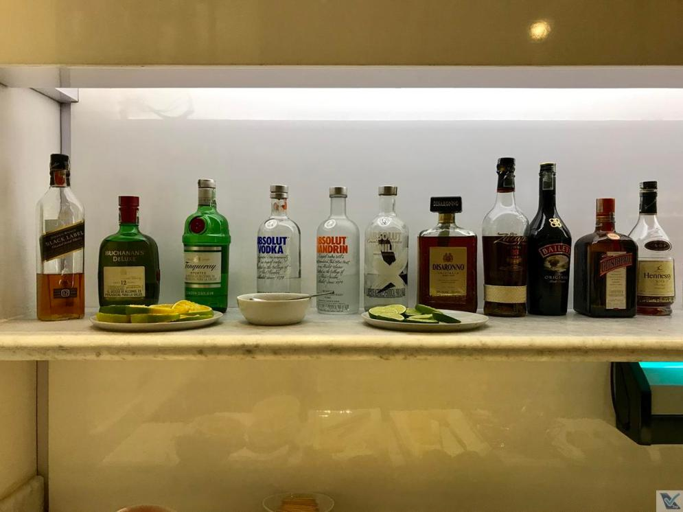 Sala VIP - LATAM - BOG - Bebidas