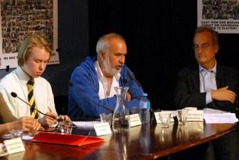 V.l.n.r.: Paul Schenderling, Wernard Bruining en rechter Hendrik Kaptein (© Gonzo media)