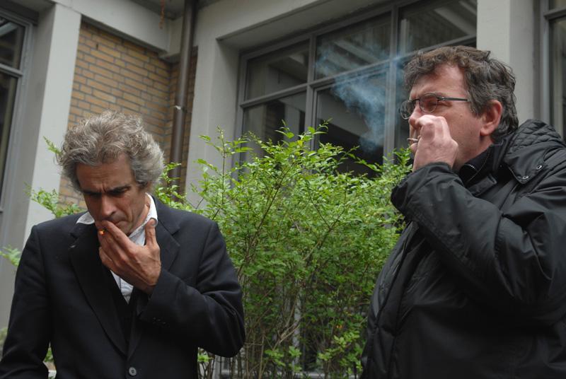 Rookpauze: Joep Oomen (VOC, ENCOD, Trekt Uw Plant) en Michael Veling (BCD, 420 Cafe Amsterdam)