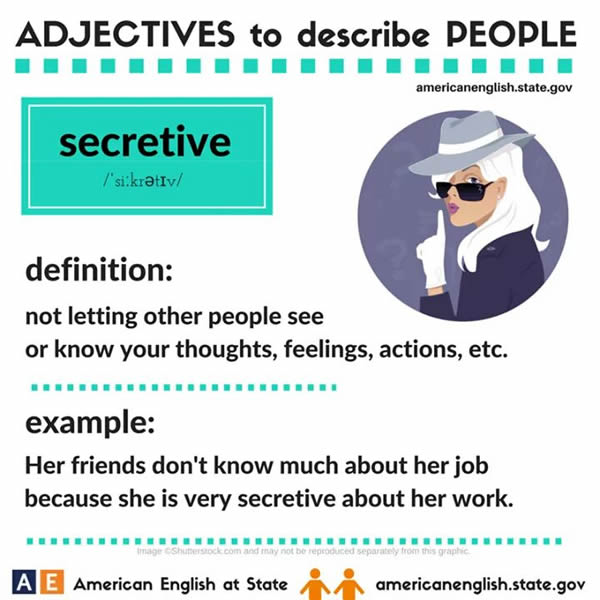 Adjectives to Describe People  Vocabulary Home