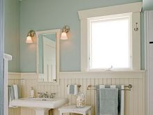 beach cottage bathroom decor