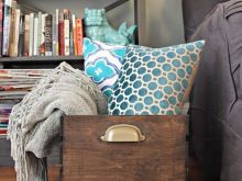 Blanket Storage Ideas For Living Room