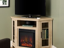 corner fireplace tv stand for 13 inch tv