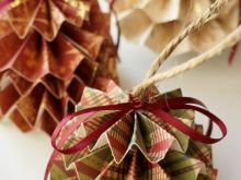 Diy Paper Christmas Decorations