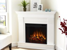 Electric Fireplace Corner