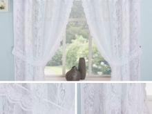 lace kitchen window curtains