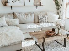 neutral boho living room