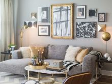 Neutral Gold And Silver Living Room Decor